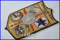 US Navy Patch set from Korean War-(VF-781/CVG-102 set)-G-1/A-2 flight jacket