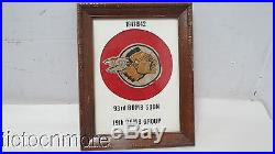 US WWII & KOREAN WAR 93rd BOMB SQUADRON 19th BOMB GROUP SQUADRON PATCH FRAMED