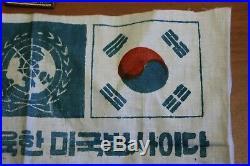 US and UN Pilot Flight Blood Chit Korean War
