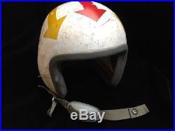 USAAF Korean War P-1A (P-1B) Fighter Pilot Flight Helmet'BOB' with Arrows