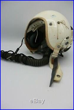 USAF FIghter Jet Pilot Helmet Vietnam Korean war era Milpar FSN 1660-440-5553