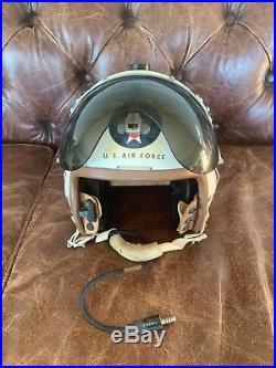 USAF Korean War Fighter Pilot Helmet Vintage F86 Sabre
