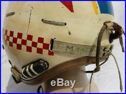 USAF Named Korean War Pilot P-1A Flight Helmet Flying Jet F-86 Sabre T-33 F-84
