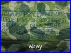USGI WW2/Korean War Combat Airborne Paratrooper Camo Parachute NOT AIRCREW