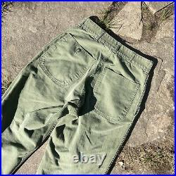 USMC HBT P53 Utility Pants Named Korean War Fatigue Trousers P56