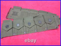 USMC Korean War 10 Pocket Ammo Belt Dates 1950 (NEW)