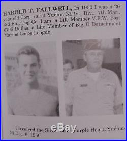 USMC Korean War Purple Heart Grouping