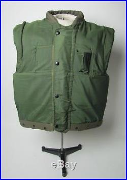 USMC M-1955 Body Armor Fragmentation Vest Flack Jacket Vietnam Korean War MINT