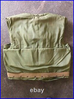 USMC M-52 flak vest, body armor, Korean War, size Medium
