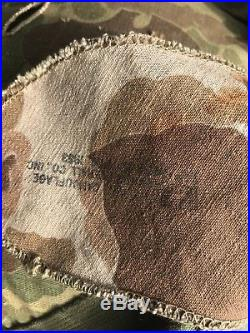 USMC Marine Helmet Liner And Camouflage Cover Camo! Korean War WWII