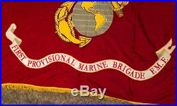 USMC Regimental flag 1st Provisional Marine Brigade Possibly Korean War era