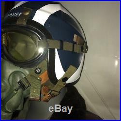 USN G-1 Flight Jacket And Helmet / Korean War 55J14 Flight Jacket