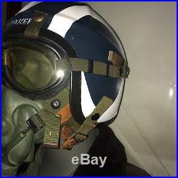 USN H-3 H-4 Flight Helmet / Korean War / Bridges At Toko-ri