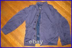 USN N-4 Deck Jacket Shirt WW2 Korean War Vietnam War USMC USAF N4 HBT VTG N1 N-1
