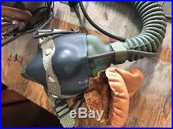 USN US Navy Pilot Helmet, Gloves, Logbook And More LOT of Goods WWII Korean War