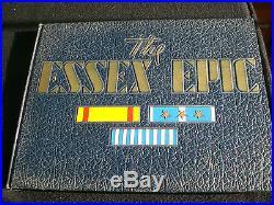 USS ESSEX EPIC CV-9 Korean War US Navy Aircraft Carrier Cruise Book