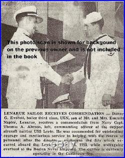 USS Leyte CV32 1950 1951 Korean War Cruisebook Jesse Brown Hunder Medal of Honor