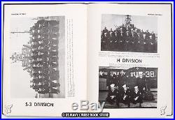 Uss Rochester Ca-124 1950-1951 Korean War Cruise Book