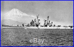 USS TOLEDO Korean War Navy Captain's Lord Elgin 14K Yellow Gold Watch! WOW