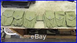 Us Korean War Era Browning Automatic Rifle Bar Ammunition Ammo Belt 1951 M1937