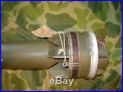 Us Korean War Original M29a2 Inert Bazooka Round Practice Training