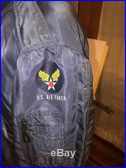 Usaf Korean War Flight Pilot Flying Jacket L-2A