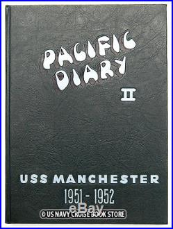 Uss Manchester Cl-83 1951-1952 Korean War Cruise Book Pacific Diary II