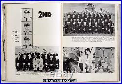 Uss New Jersey Bb-62 1952-1953 Korean War Cruise Book