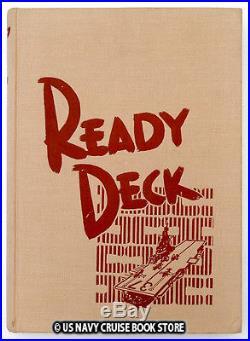 Uss Princeton Cv-37 1952 Korean War Cruise Book Ready Deck