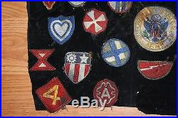 Vintage Wwii Vietnam Korean War Patches Collection Lot