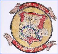 VMA-212 Devil Cats Patch Korean War Marine Corps USMC Fighter Attack Squadron