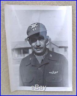 VTG Korean War USAF 13th Bomb Squadron Crew Cap 50 Mission Skull Grim Reaper