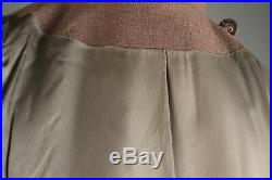 VTG Women's WWII 40s 50s Korean War WAC Coat Sz L #2778 WW2 1940s 1950s Uniform