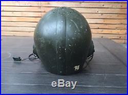 Very Rare Korean War Wilson Tanker/CVC Helmet