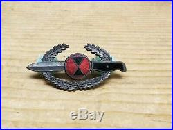 Very rare Korean War 7th Infantry Order Of The Bayonet Theater Made In Korea