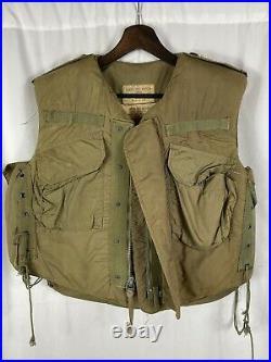 Vietnam Korean War m-1952A US Flak Jacket Vest Small Frag
