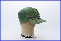 Vietnam War Era Mitchell camo cover Hat Original Usmc Cap Mint Korean War Leaf