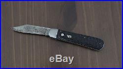 Vintage 1946 SCHRADE WALDEN 3/4 STG Cellulose Button Switch Knife Korean War