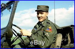 Vintage 1950s Deadstock M-1951 Med Short Field Jacket Korean War Military 50s