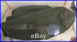 Vintage 1953 US Army Military Korean War DOWN-Fur Casualty SLEEPING BAG-Hunting