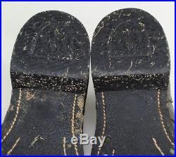 Vintage 50's ENDICOTT JOHNSON Korean War USMC Military Roughout Boondocker Boots