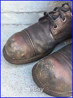 Vintage 50's Korean War US ARMY Boots, Military, Size 11