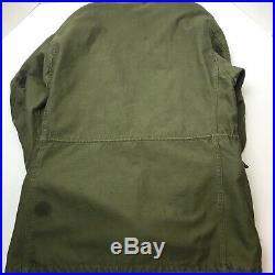 Vintage 50s Korean War US Army Military M-1951 M51 Field Jacket Regular Small