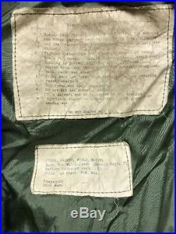 Vintage 50s M-1951 Korean War GI Field Jacket Coat Size Medium withLiner
