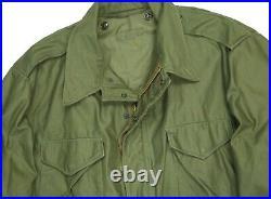 Vintage 50s M-51 Field Jacket Military Army Coat M-1951 XL Mint OG Korean War