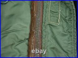 Vintage 50s N3B Snorkel Parka Jacket Coat USAF Military Skyline Korean War XL