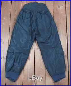 Vintage 50s US Air Force Type D-1A Flying Trousers Flight Pants Sz 30 Korean War