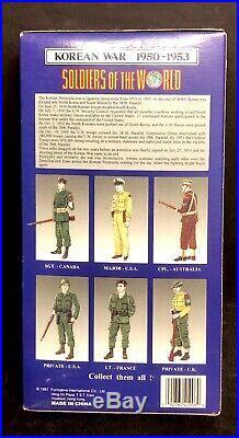Vintage/Collectible Soldiers Of War Korean War 1950-1953 France Lieutenant SEALE
