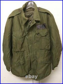 Vintage Korean War 1958 Named USMC Marine NCO M1951 Field Jacket OD Medium Reg