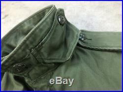 Vintage Korean War Early Vietnam Us Army Jacket Field M-1951 M51 Small Short